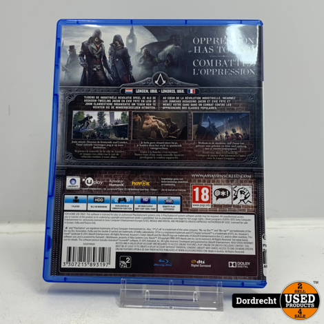 Playstation 4 spel | Assassin's Creed Syndicate