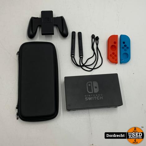 Nintendo Switch (2018) Grijs   Compleet in doos   Met garantie