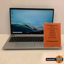 HP Probook 450 G8 laptop   Intel Core i3 8GB RAM 256GB SSD Windows 10   Met garantie