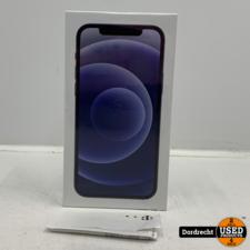 iPhone 12 128GB zwart | Nieuw in seal | Met originele bon