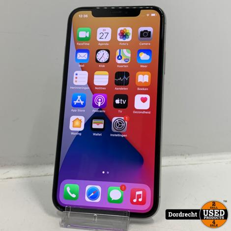 iPhone X 64GB Wit | Kleine schade scherm | Met garantie