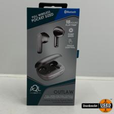 Outlaw draadloze oordopjes Zwart | Nieuw in doos | Met garantie