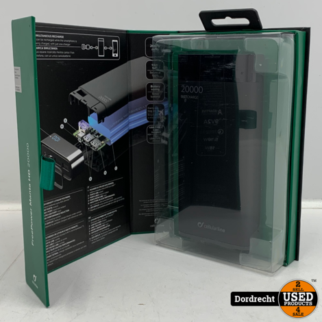 Cellularline Manta HD 20000 Wireless Powerbank   Nieuw in doos   Met garantie