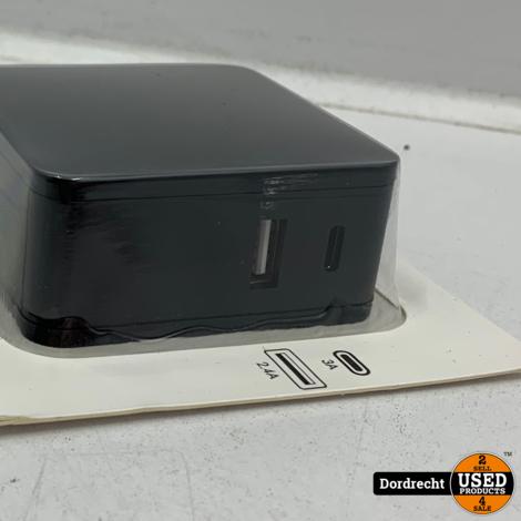 USB Boost Charger 3A | Nieuw | Met garantie