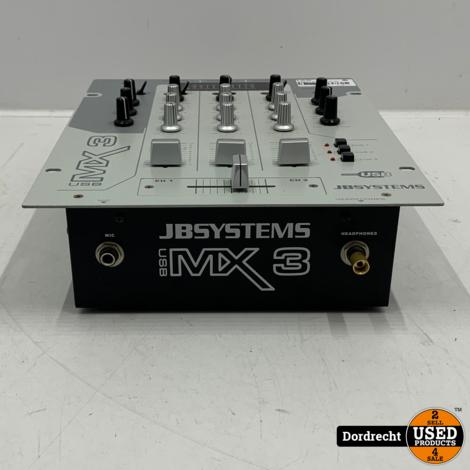 JB Systems MX3 mengpaneel / mixer | Met garantie