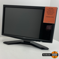 Acer T230H Monitor   Met garantie