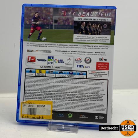 Playstation 4 spel   Fifa 16