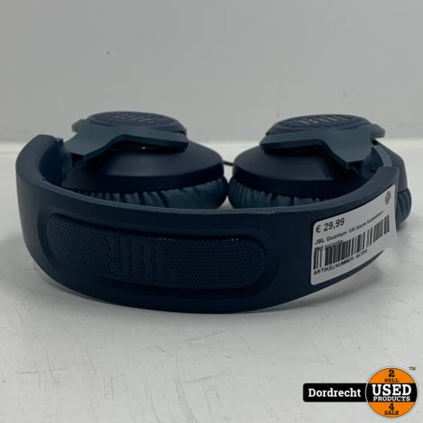 JBL Quantum 100 blauw koptelefoon | Met garantie
