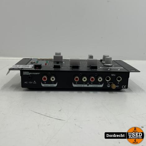 PROMIX50U menpaneel 2 kanalen + USB ingang   Met garantie