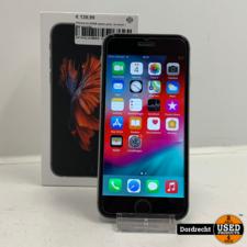 iPhone 6s 64GB space gray   In doos   Met garantie