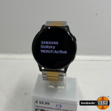 Samsung galaxy watch active smartwatch | Met garantie