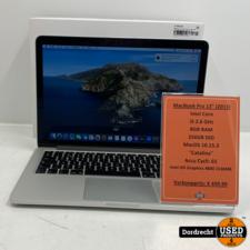 Macbook Pro 2013 13 Inch   Intel Core i5 256GB SSD 8GB RAM Intel HD Graphics 4000 1536 MB   Met garantie