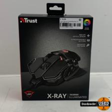 Trust X-Ray gxt 138 gaming muis   In doos   Met garantie