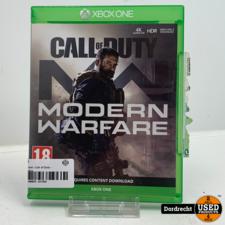 XBOX One Spel   Call of Duty - Modern Warfare