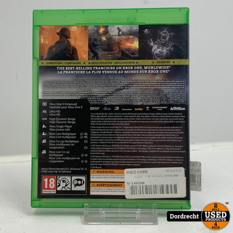 XBOX One Spel | Call of Duty - WWII