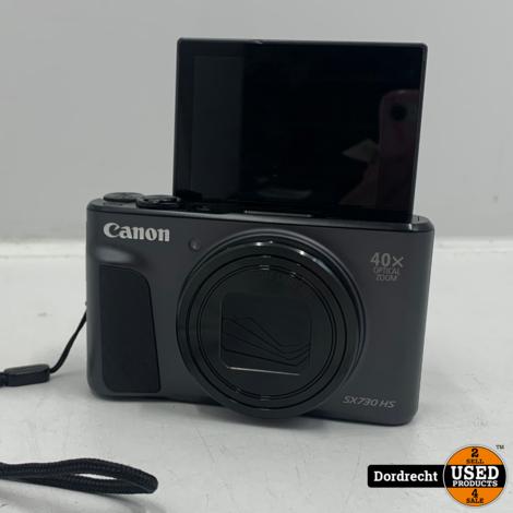 Canon PowerShot SX730 HS camera | Met accu en lader | In tas | Met garantie