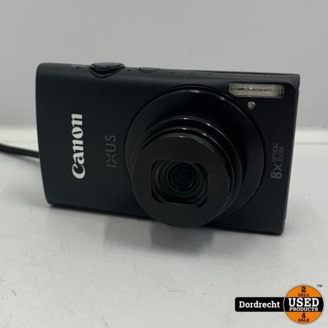 Canon IXUS 230 HS camera | Met 2 accus en lader | In hoes | Met garantie