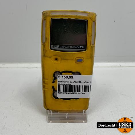 Honeywell GasAlert MicroClip XL   Met garantie