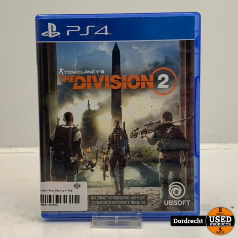 Playstation 4 spel   Tom Clancy's The Division 2