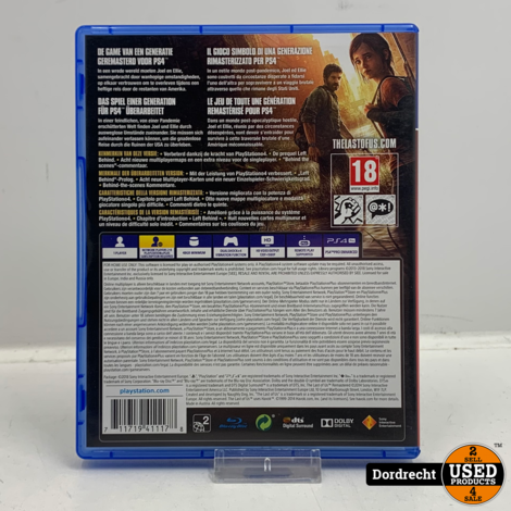 Playstation 4 spel | The Last of Us Remastered - PlayStation Hits