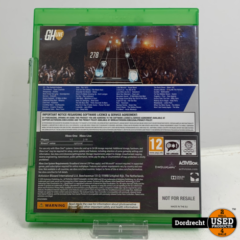 Xbox One spel | Guitar Hero Live