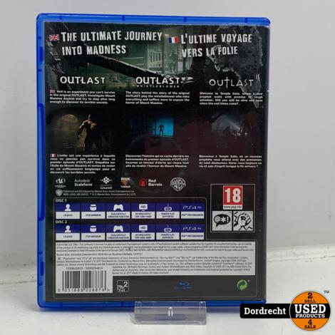 Playstation 4 spel   Outlast Trinity