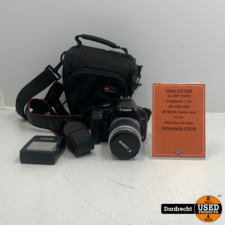 Canon Eos 450D Camera   Met 28-90mm lens   In tas   Met 2 accu's en lader   Met garantie