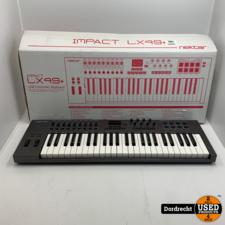Impact 49LX Plus Controller Keyboard   In doos   Met Garantie
