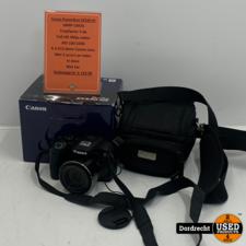 Canon PowerShot SX530 HS Camera   In doos   Met 2 accus en lader   In tas   Met garantie
