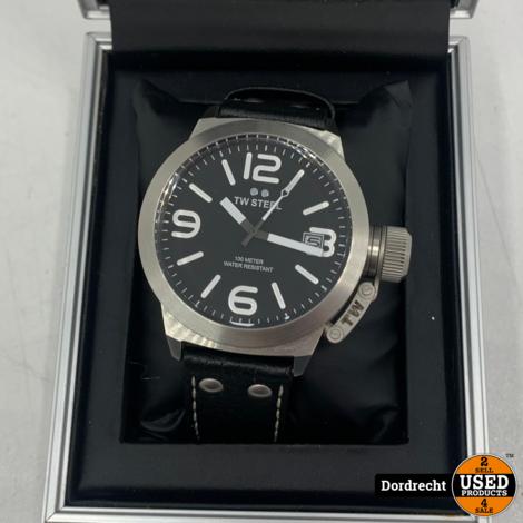 TW Steel CS1 Canteen horloge | In doos | Met garantie