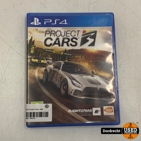 Playstation 4 Spel | Project Cars