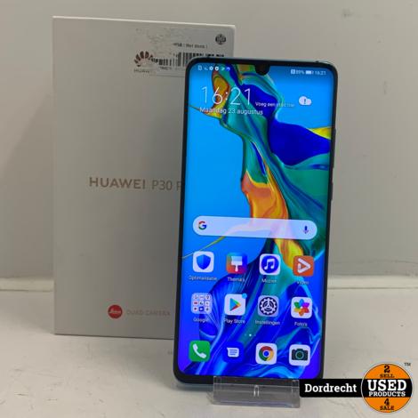 Huawei P30 Pro 128GB Aurora   In doos   Met garantie