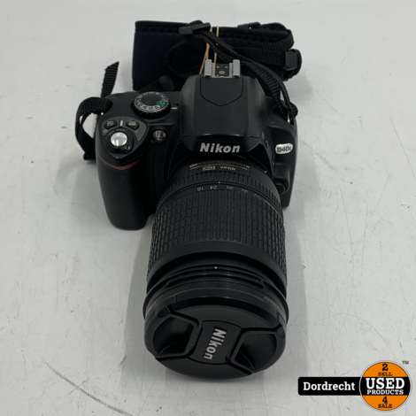 Nikon D40X Digitale Camera | 18-135mm Lens | Zonder lader | Met garantie