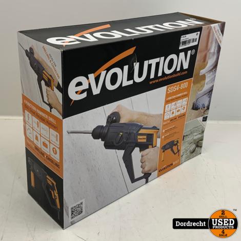 Evolution SDS4-800 Klopboormachine | NIEUW in doos | Met garantie