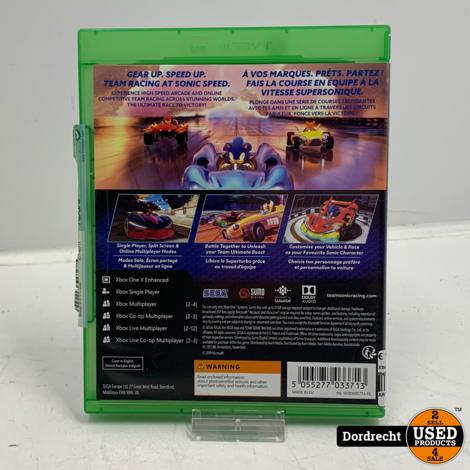 Xbox One Spel | Team Sonic Racing