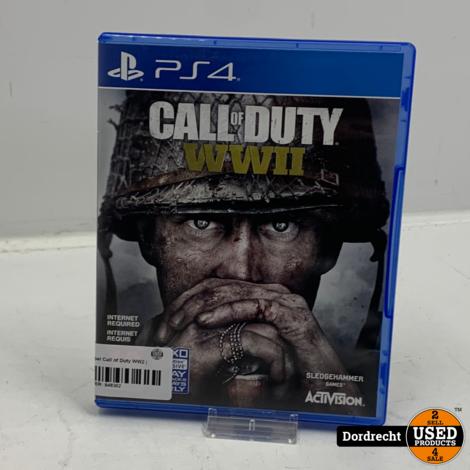 Playstation 4 Spel   Call of Duty WW2