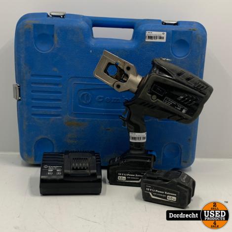 Cembre B500 18V cordless hydraulic crimping tool  | In kist | Met garantie