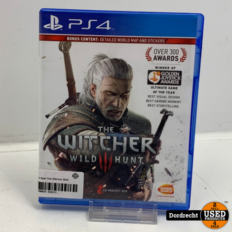Playstation 4 Spel | The Witcher Wild Hunt 3