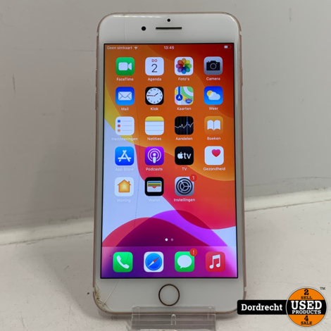 iPhone 7 Plus 32GB roze | Met barst | Accu laag | Met garantie