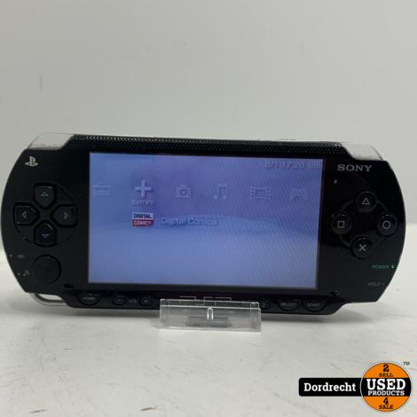 Sony PSP   Mist klepje achterzijde   Met lader   Met garantie