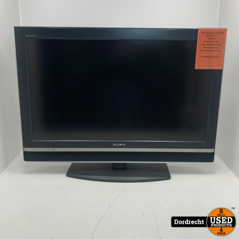 Sony Bravia KDL-32V2500 TV / Televisie | Met AB | Met garantie