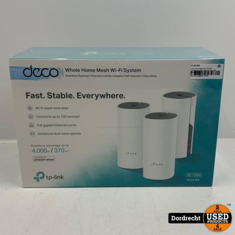 Deco Home Mesh WiFi System AC1200 Deco M4   Nieuw in seal   Met garantie