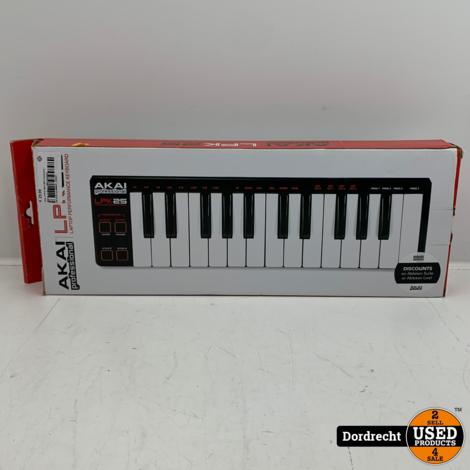Akai LPK25 Mini MIDI Keyboard | Nieuw in doos | Met garantie