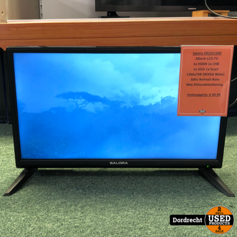 Salora 20LED1500 20 inch Televisie / TV | Met AB | Met garantie