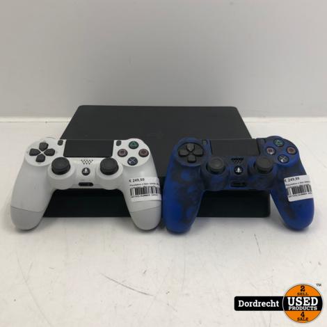 Playstation 4 Slim 500GB | Met 2 controllers | Met garantie
