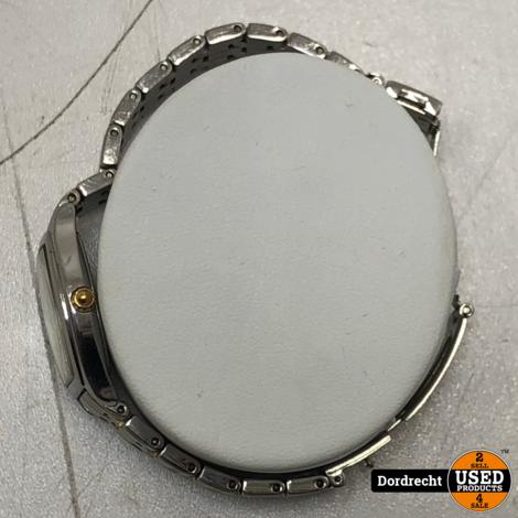 Seiko horloge Goud/zilver | Kras op glas | Klein model | Met garantie