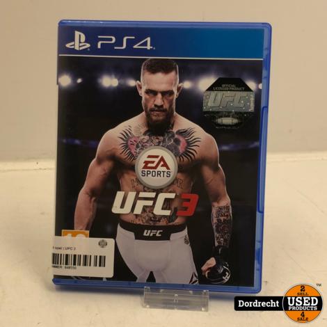 Playstation 4 spel | UFC 3