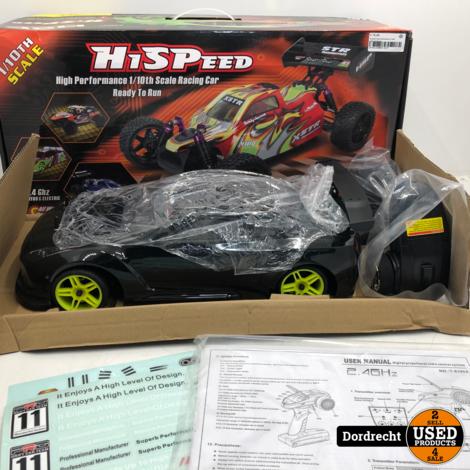 Hispeed high performance 1/10th scale racing car / bestuurbare auto | Nieuw in doos | Met garantie