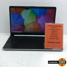 HP Notebook 15S-FQ1018ND laptop   i5-1035G4 1.5 GHz 4GB RAM 128GB SSD Windows 10    Met garantie