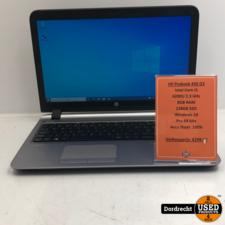 HP Probook 450 G3 laptop | Intel Core i5-6200U 128GB SSD 8GB RAM Windows 10 | Met garantie
